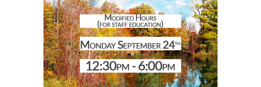 <!--Modified Hours-->
